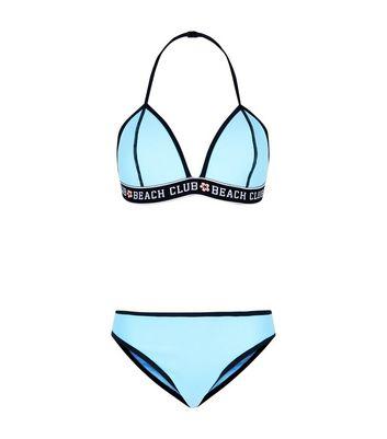girls-turquoise-scuba-bikini by new-look