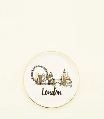 White London Trinket Tray by New Look