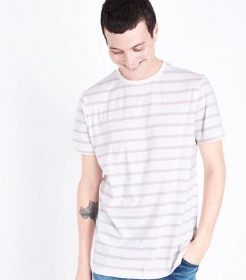 Pink Triple Stripe T-Shirt