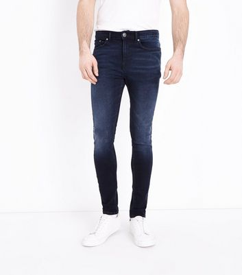 Navy Rinse Wash Super Skinny Stretch Jeans