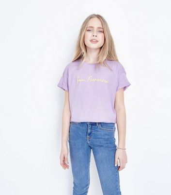Teens Lilac San Francisco Print T-Shirt