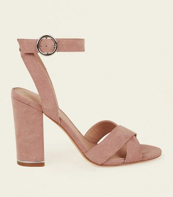 New Look New Look Pims SDT Two PT Block Heel Nude in China cheap online clearance cost discount low price genuine sale online mxPSter
