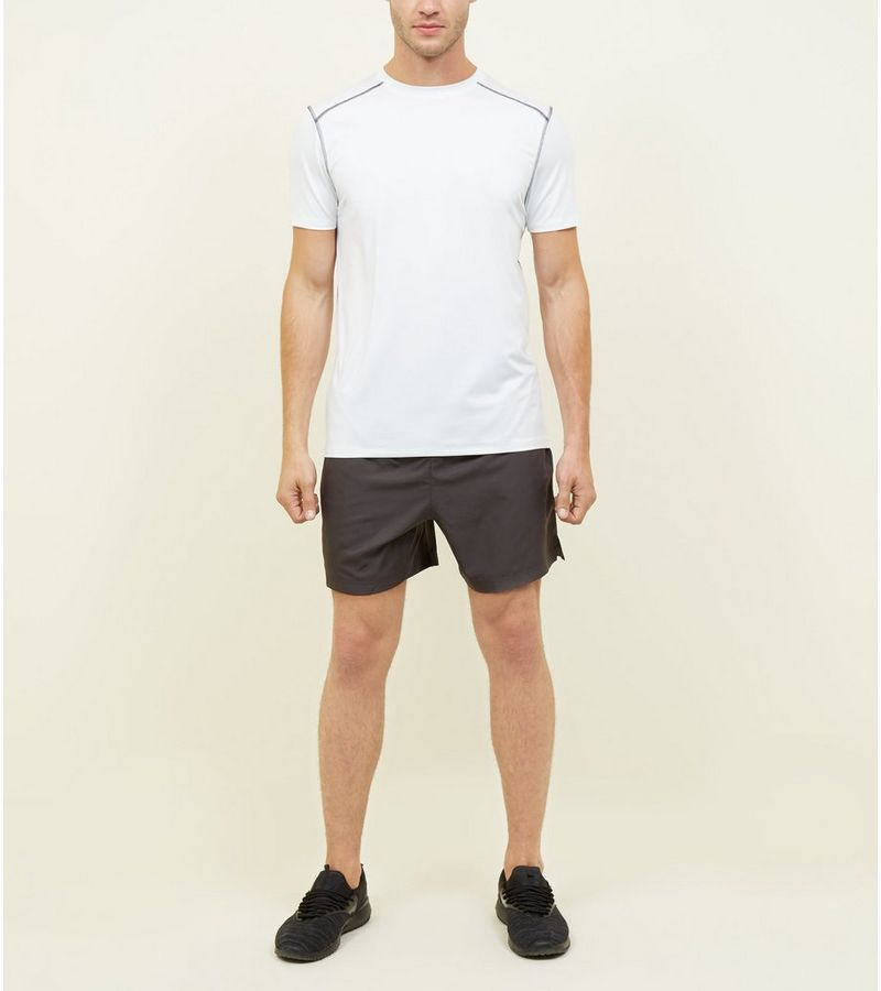 New Look - sportliches stretch-t-shirt - 2
