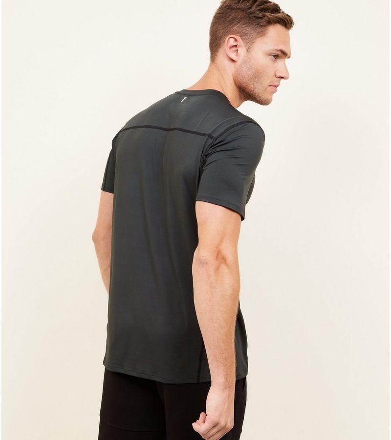 New Look - t-shirt mit stretch-anteil und sportivem flair - 3
