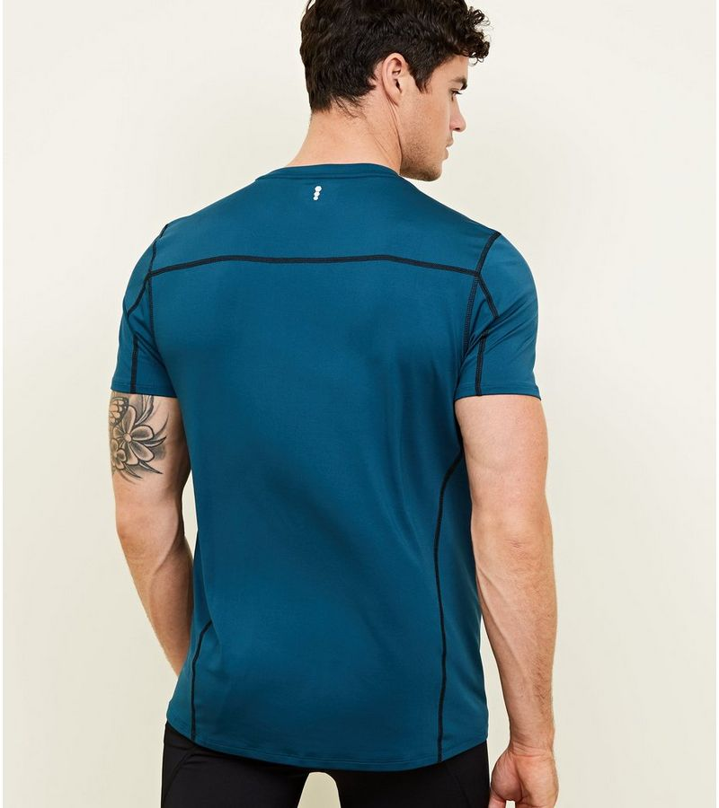 New Look - sportliches stretch-t-shirt - 3
