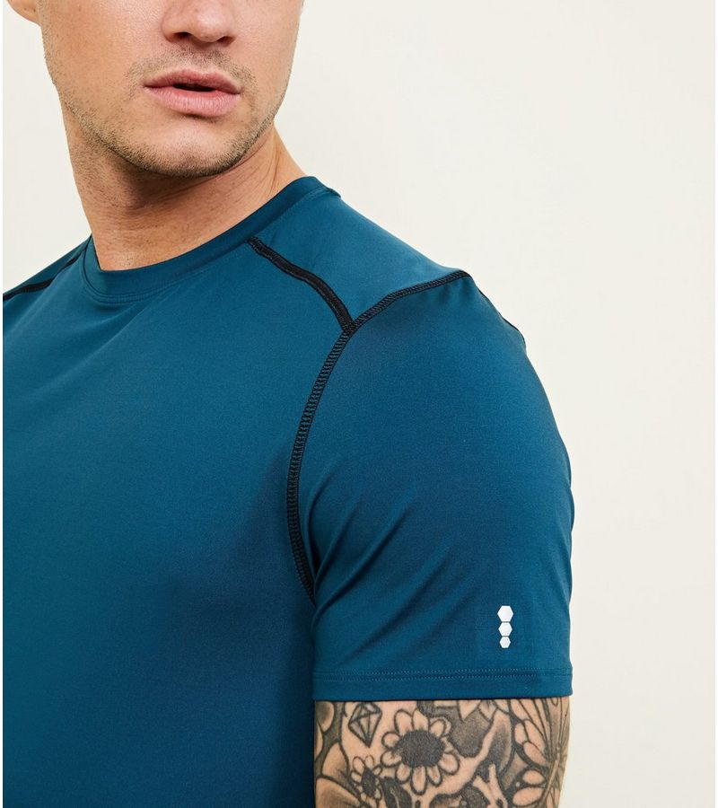 New Look - sportliches stretch-t-shirt - 5