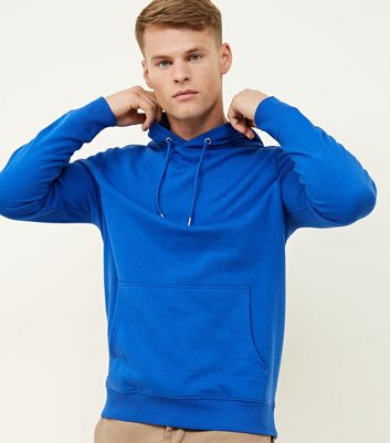 Bright Blue Pocket Front Hoodie