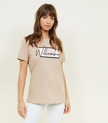 Camel Williamsburg Slogan T-Shirt