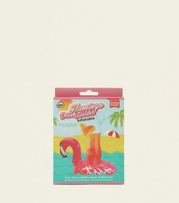 Pink Flamingo Drinks Holder Float