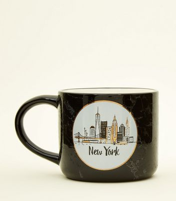 Pale Pink New York Mug
