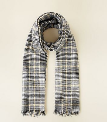 Black Prince of Wales Check Blanket Scaf
