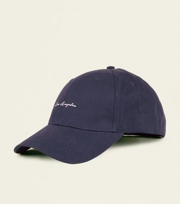 Navy Los Angeles Embroidered Cap