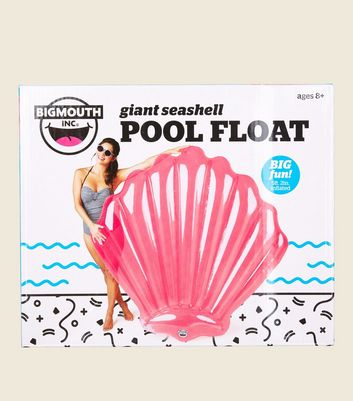 Pink Giant Seashell Pool Float