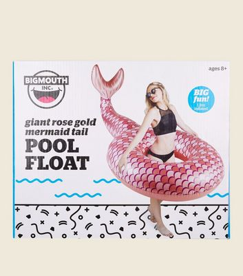 Pink Giant Mermaid Tail Pool Float