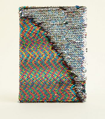 Rainbow 2 Way A5 Sequin Notebook