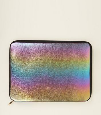 Multi Colour Zip Around Laptop Case