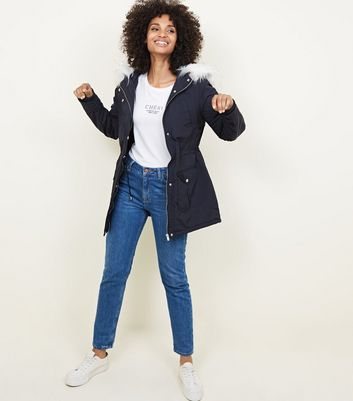 Women's parka coats uk