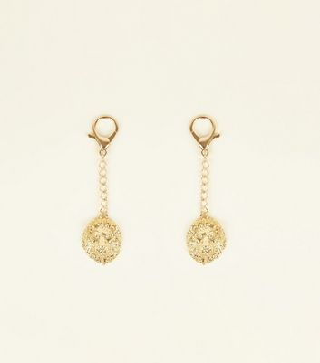 2 Pack Gold Lion Keyrings