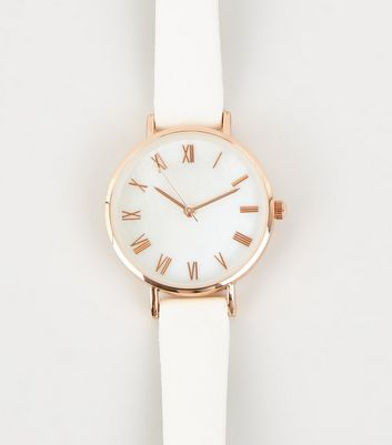 White Mother Of Pearl Watch