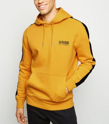 Yellow San Francisco Embroidered Hoodie