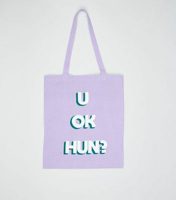 Lilac U Ok Hun Canvas Bag