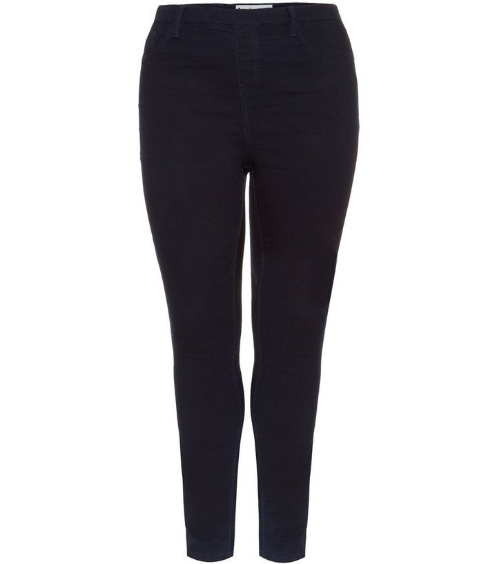 55480cdfb54ef Inspire Dark Blue Jeggings | New Look
