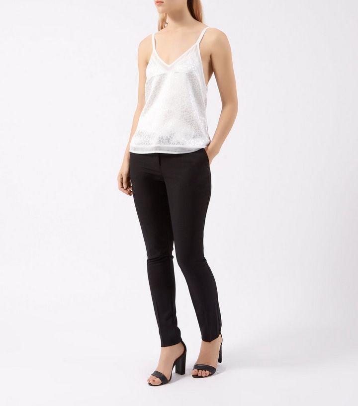 1b6e855c0c ... Black Bi Stretch Belted Slim Leg Trousers. ×. ×. ×. Shop the look