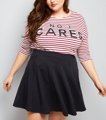 curves-black-flounce-skater-skirt