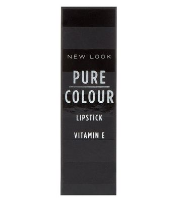 Pure Colour Burgundy Lipstick New Look