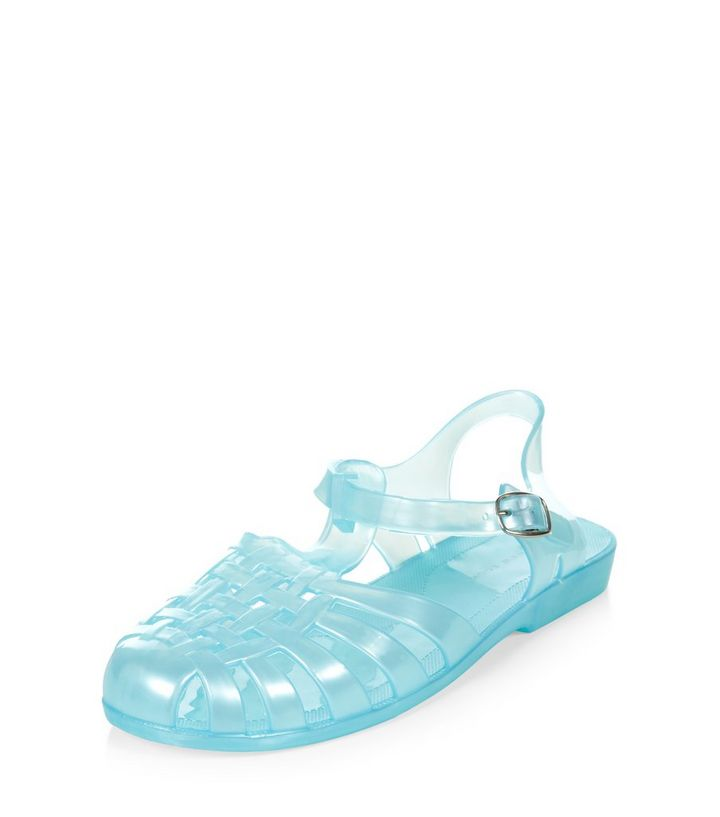 ee41d025518 Teens Mint Green Caged Jelly Sandals Add to Saved Items Remove from Saved  Items