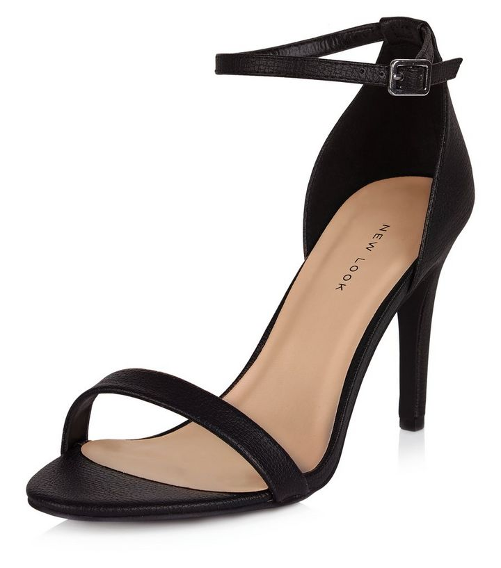6bfa1507bfe Black Ankle Strap Heels Add to Saved Items Remove from Saved Items