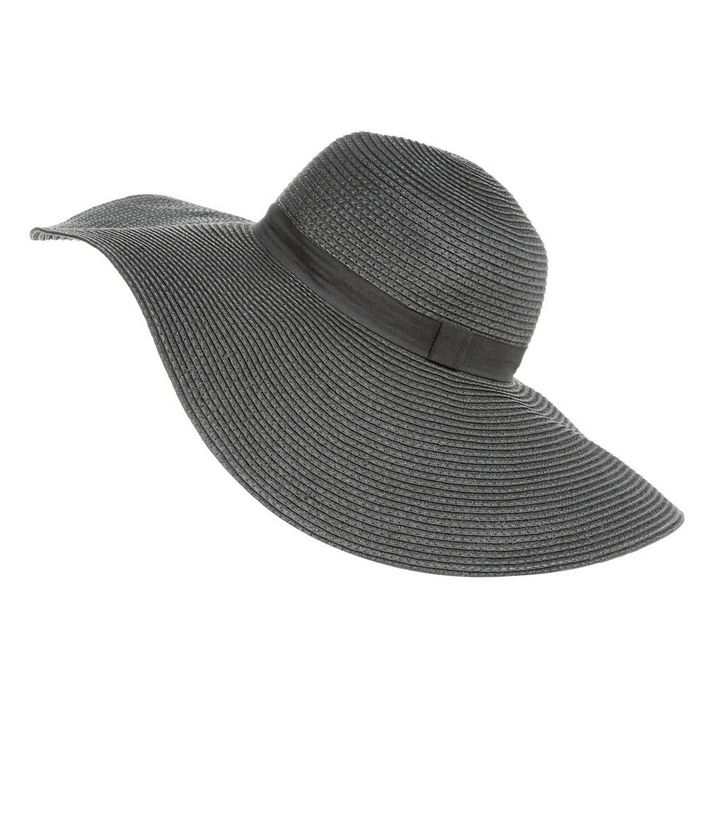 a2f4cbc8 ... Black Textured Band Trim Oversized Floppy Hat. ×. ×. ×. Shop the look