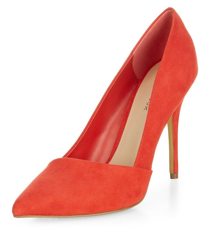 52fee150222 Red Pointed Court Shoes Add to Saved Items Remove from Saved Items