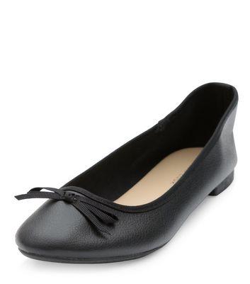 Black Ballet Pumps | New Look
