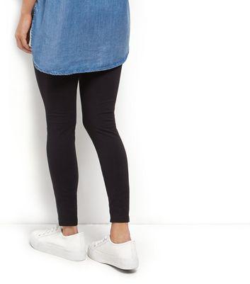 Petite 2 Pack Black Leggings New Look