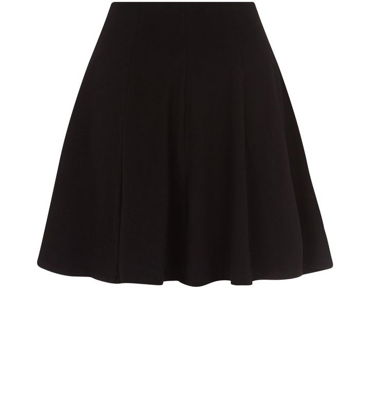9ad2bd34b5 Black Skater Skirt Add to Saved Items Remove from Saved Items