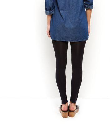 Petite Black Leggings New Look