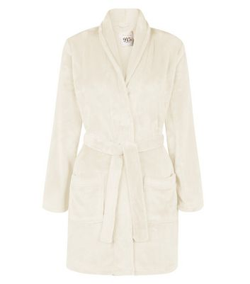 Teens Cream Dressing Gown | New Look