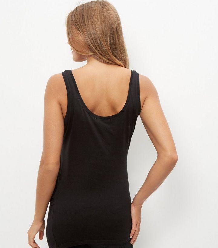 b0236efc33f21 ... 3 Pack Maternity Blue Longline Vests. ×. ×. ×. Shop the look