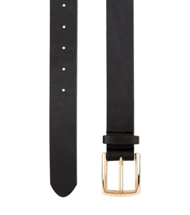 big discount best shoes baby Black Leather-Look Jeans Belt Add to Saved Items Remove from Saved Items