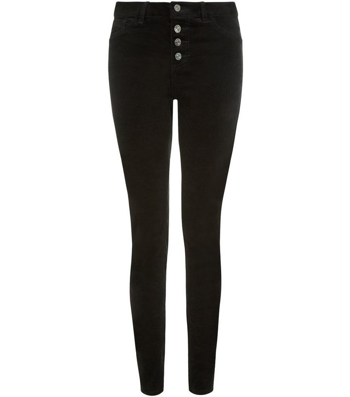 discount up to 60% best shoes unique style Black Cord High Waisted Skinny Jeans Add to Saved Items Remove from Saved  Items