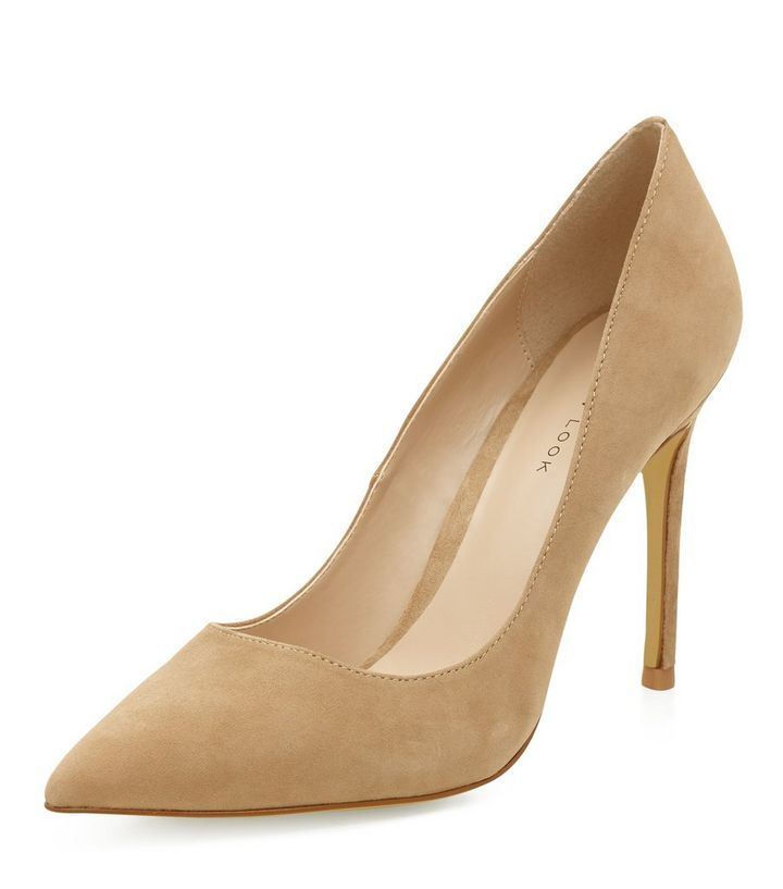 8266c0f95b0 Nude Suede Pointed Court Shoes Add to Saved Items Remove from Saved Items