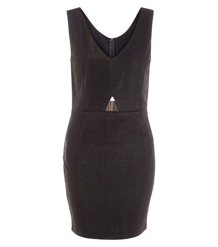 9c9a60c7188 AX Paris Black V Neck Bodycon Dress