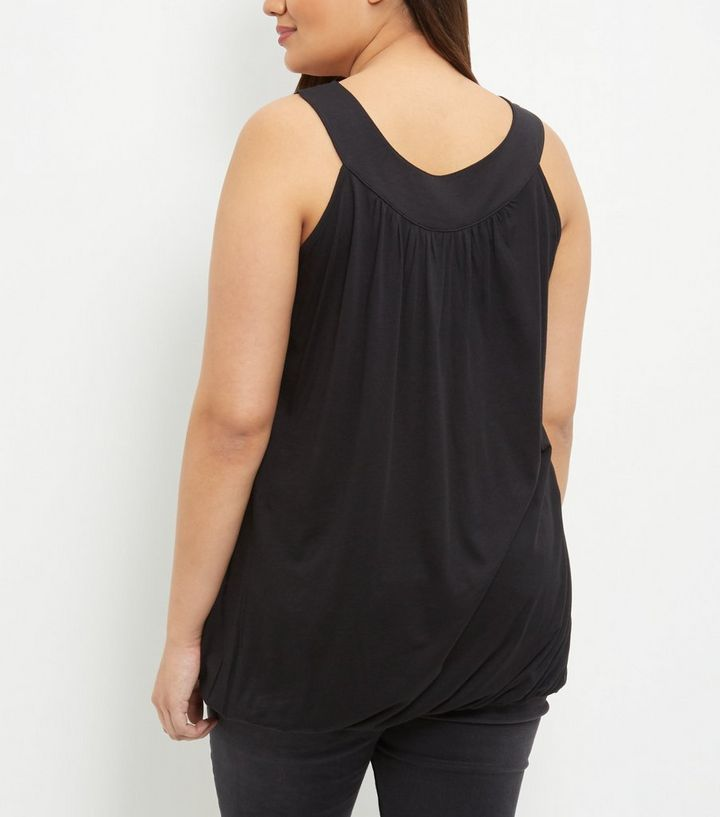 bdf7a3bfd99551 ... Curves Black Bubble Hem Vest. ×. ×. ×. Shop the look
