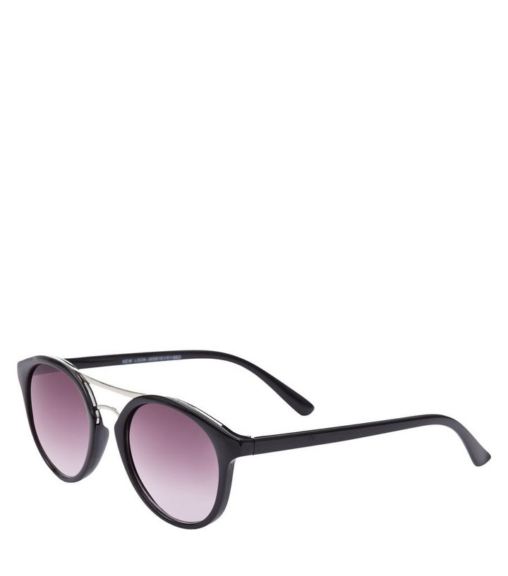 33e2108ef516 ... Black Double Bar Cat Eye Sunglasses. ×. ×. ×. Tap image to zoom in.  Shop the look