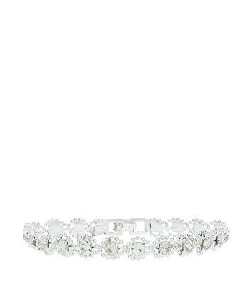 Crystal Tennis Bracelet New Look