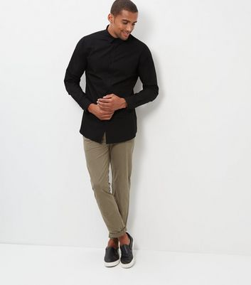 Black Long Sleeve Shirt New Look