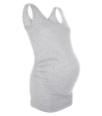 Maternity Grey Vest New Look