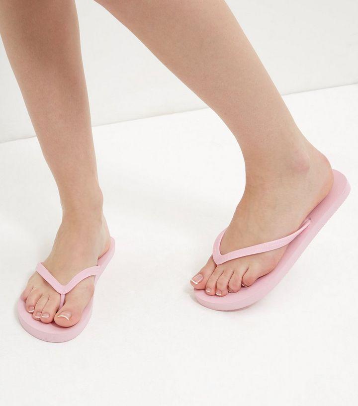 08ea88970 ... 2 Pack Pink Flamingo Print Flip Flops. ×. ×. ×. VIDEO Shop the look