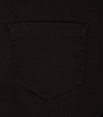 Black High Waist Super Skinny Jeans New Look